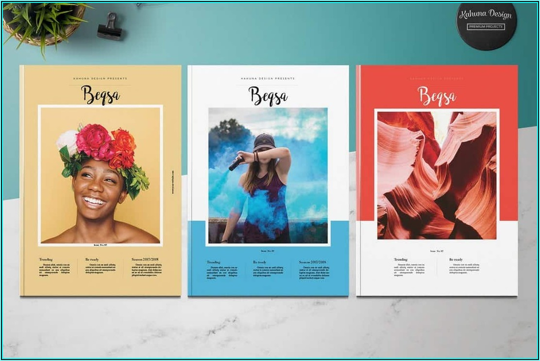 Templates For Brochures Indesign