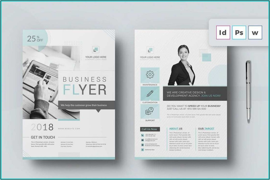 Templates For Brochures Word