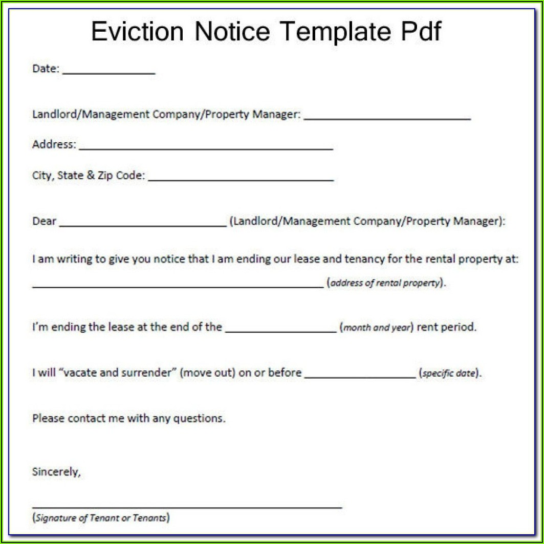 Tenant Eviction Forms Ontario