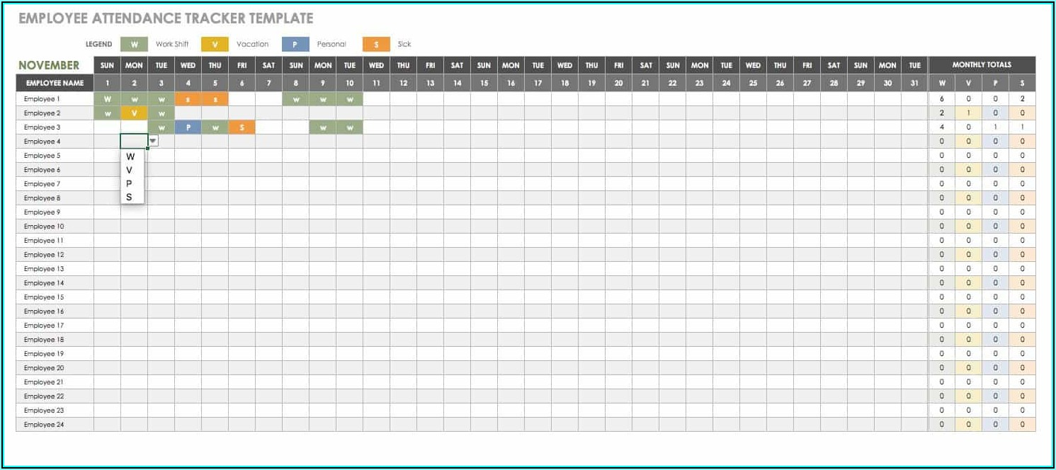 Total Compensation Statement Excel Template