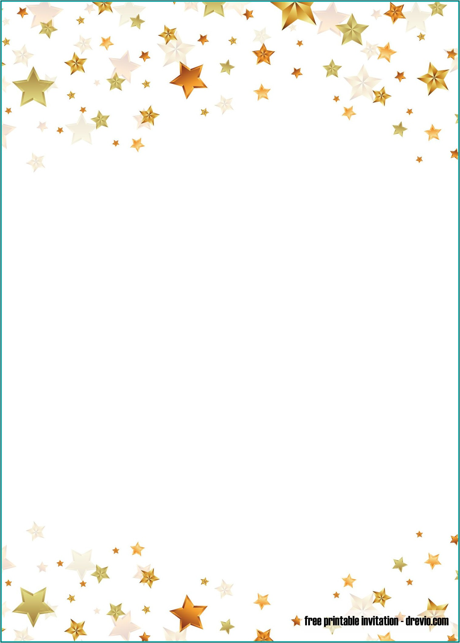 Twinkle Twinkle Little Star Baby Shower Invitation Template Free
