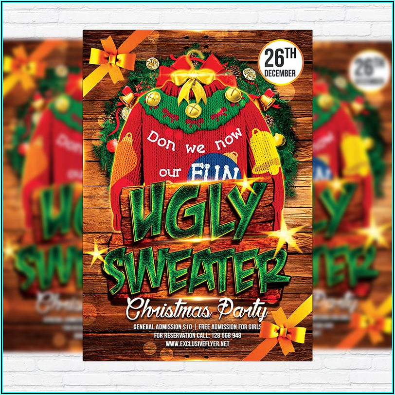 Ugly Sweater Party Template
