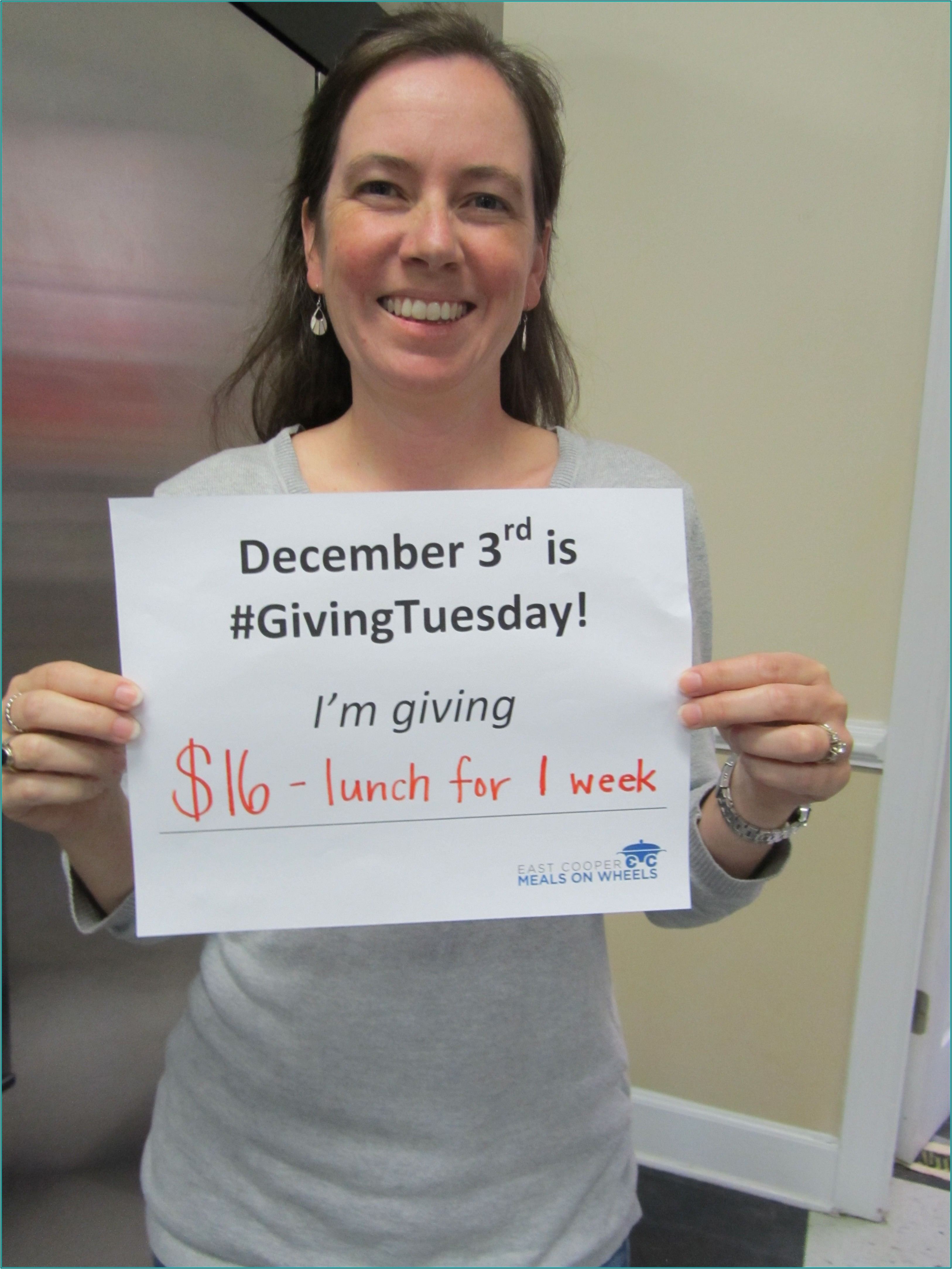 Unselfie Giving Tuesday Template