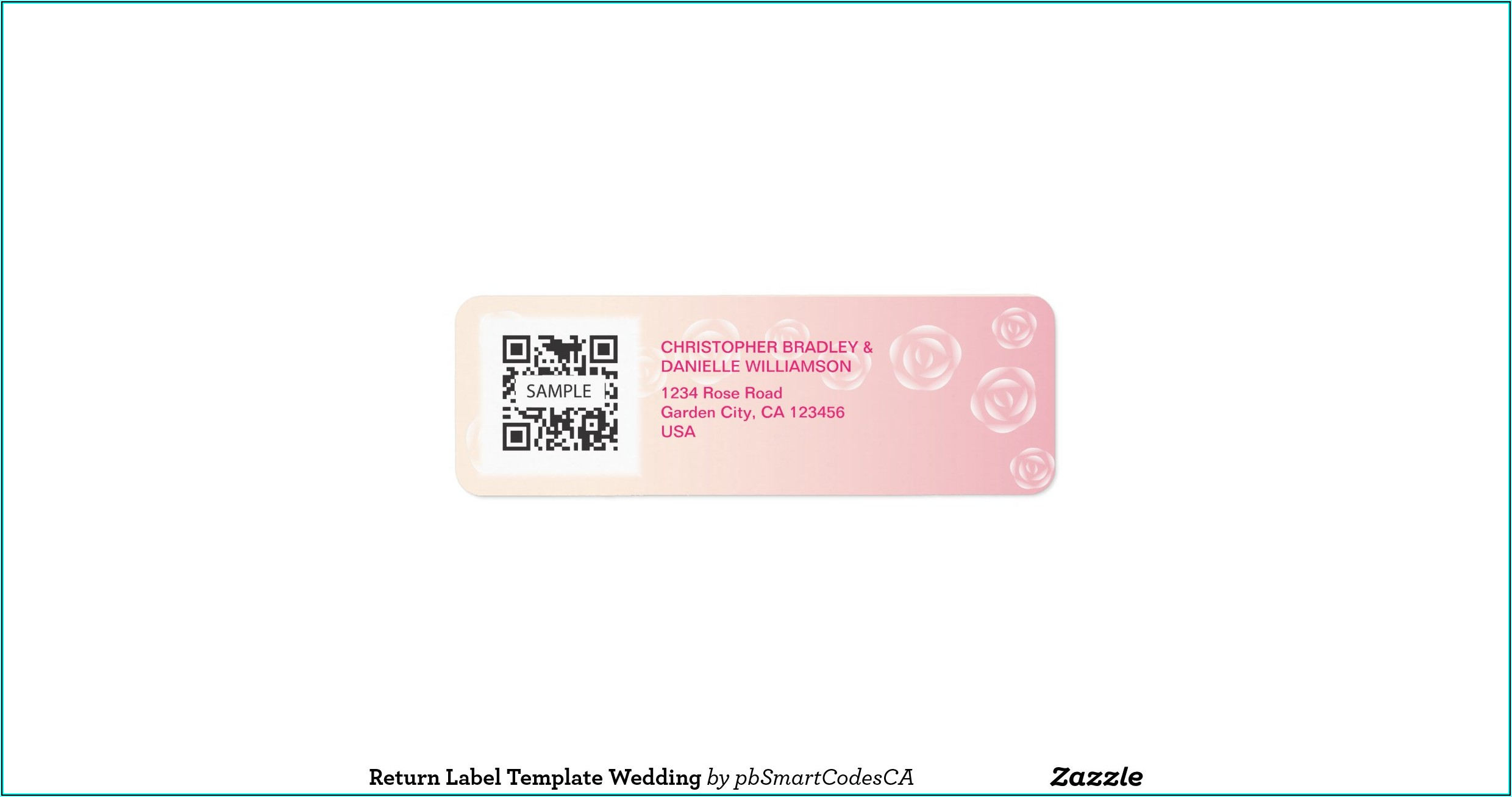 Wedding Address Label Templates