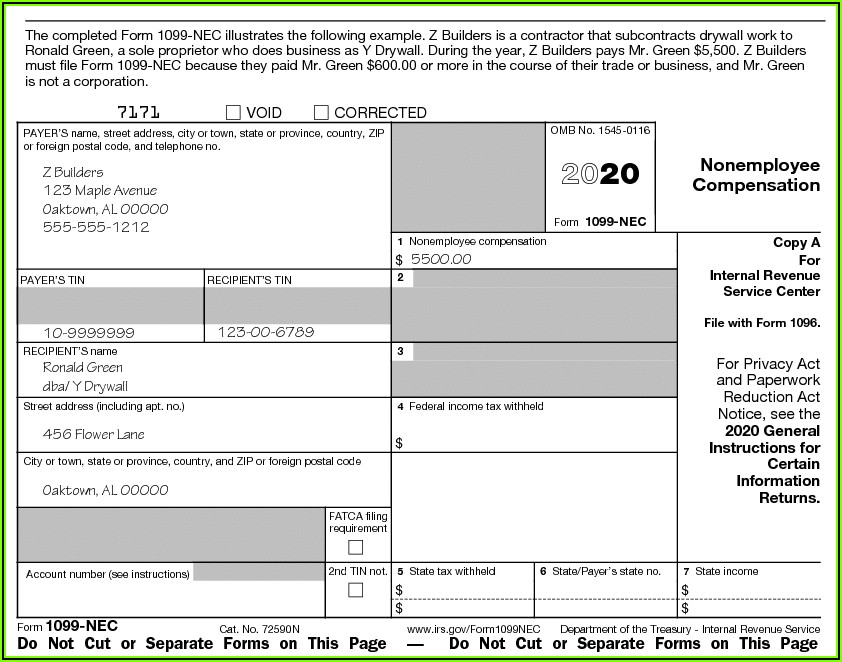 Where To File 2019 Form 1099 Misc