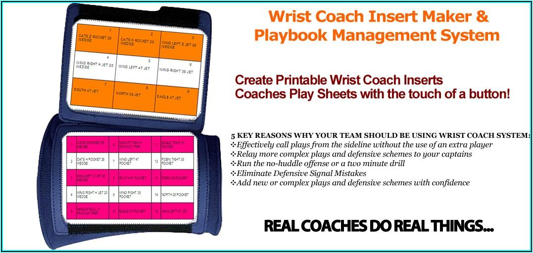 Wrist Coach Template Excel