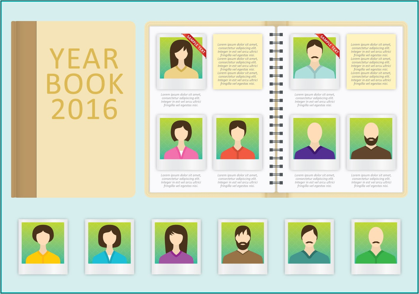 Yearbook Design Templates Free Download