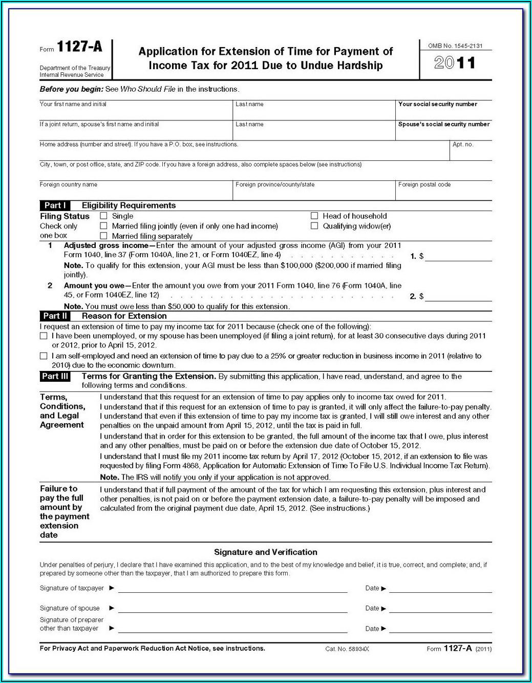 1040ez 2011 Form Instructions