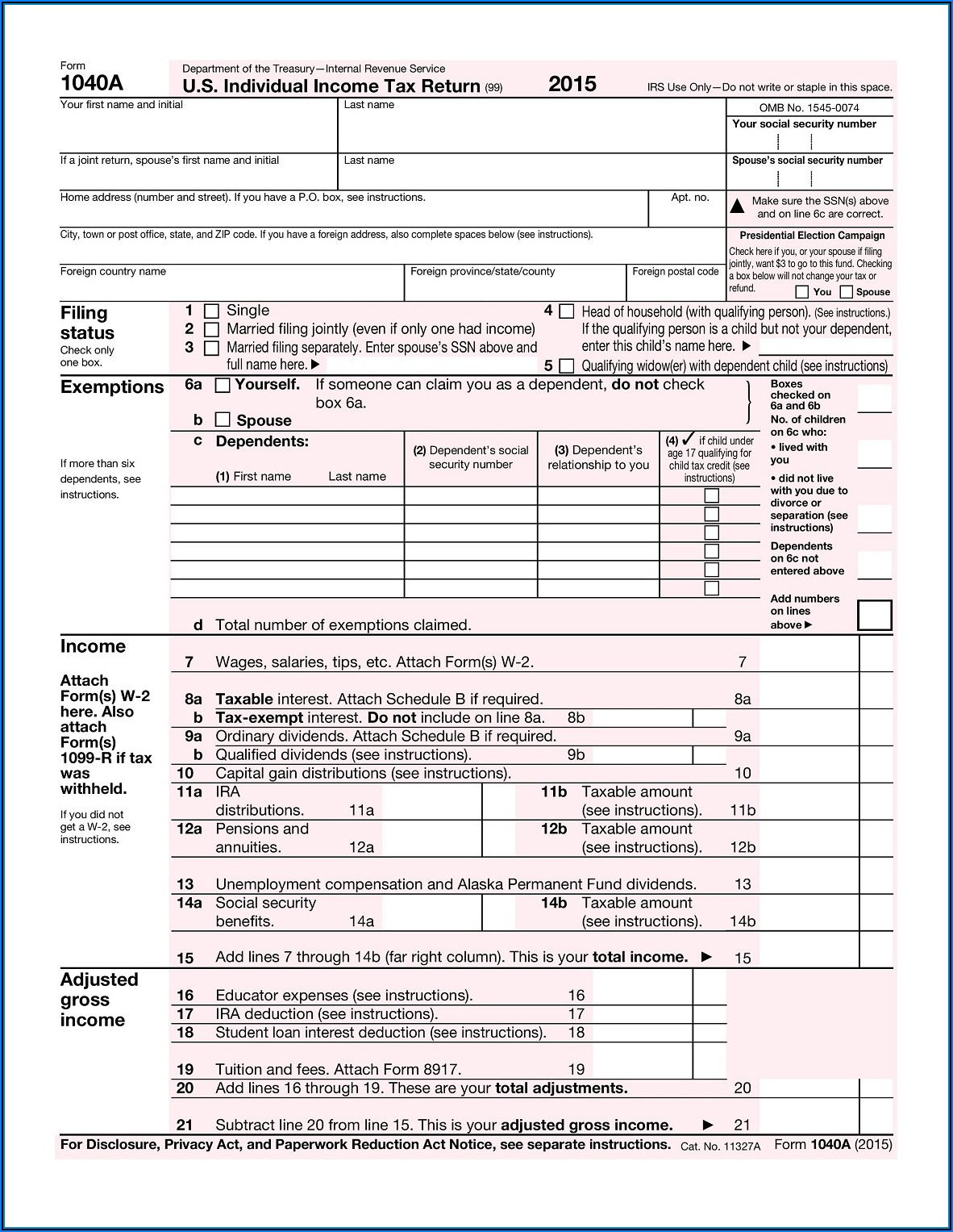 2016 Ohio Tax Form 1040ez