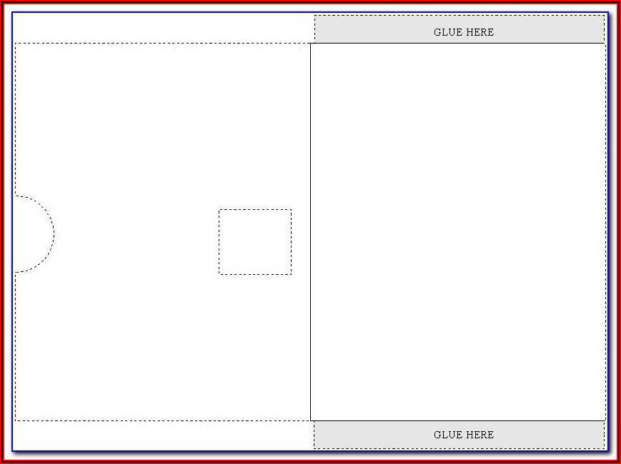 A4 Folder Template Indesign