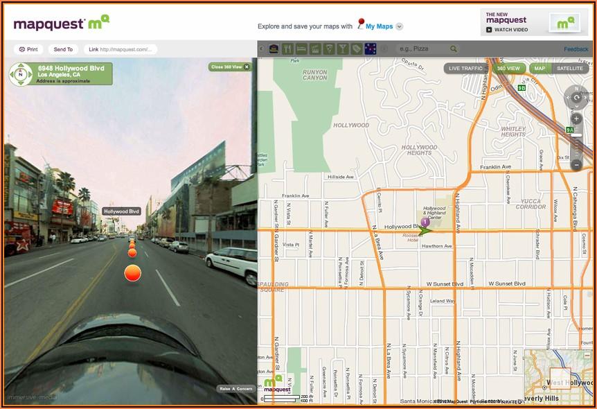 Aerial Maps Online Mapquest Satellite