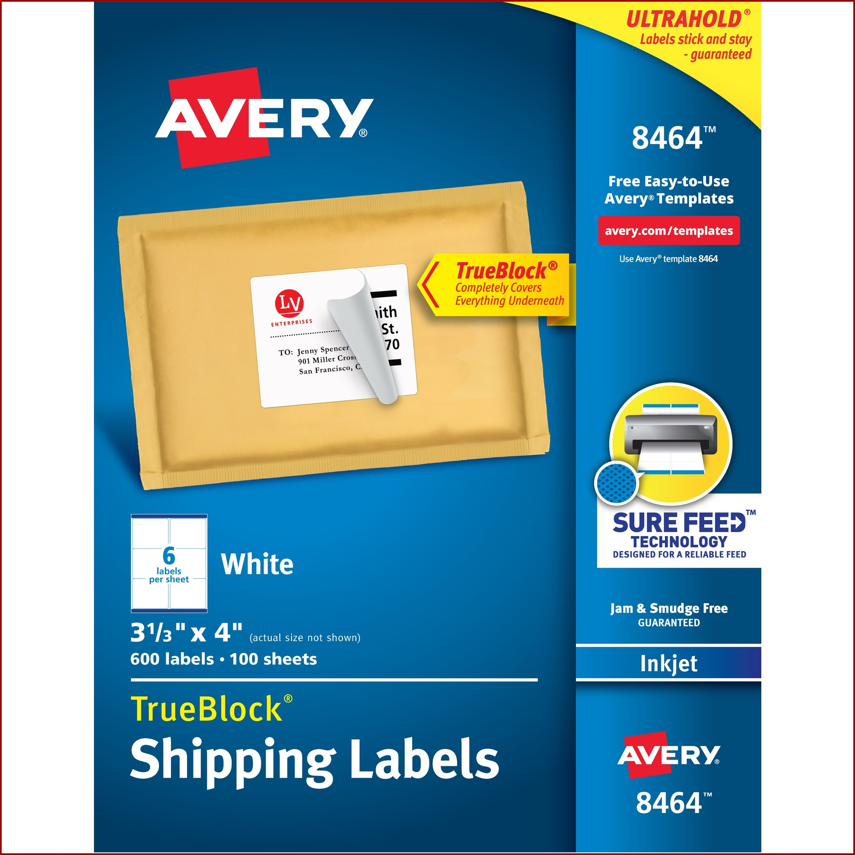Avery Key Tag Template