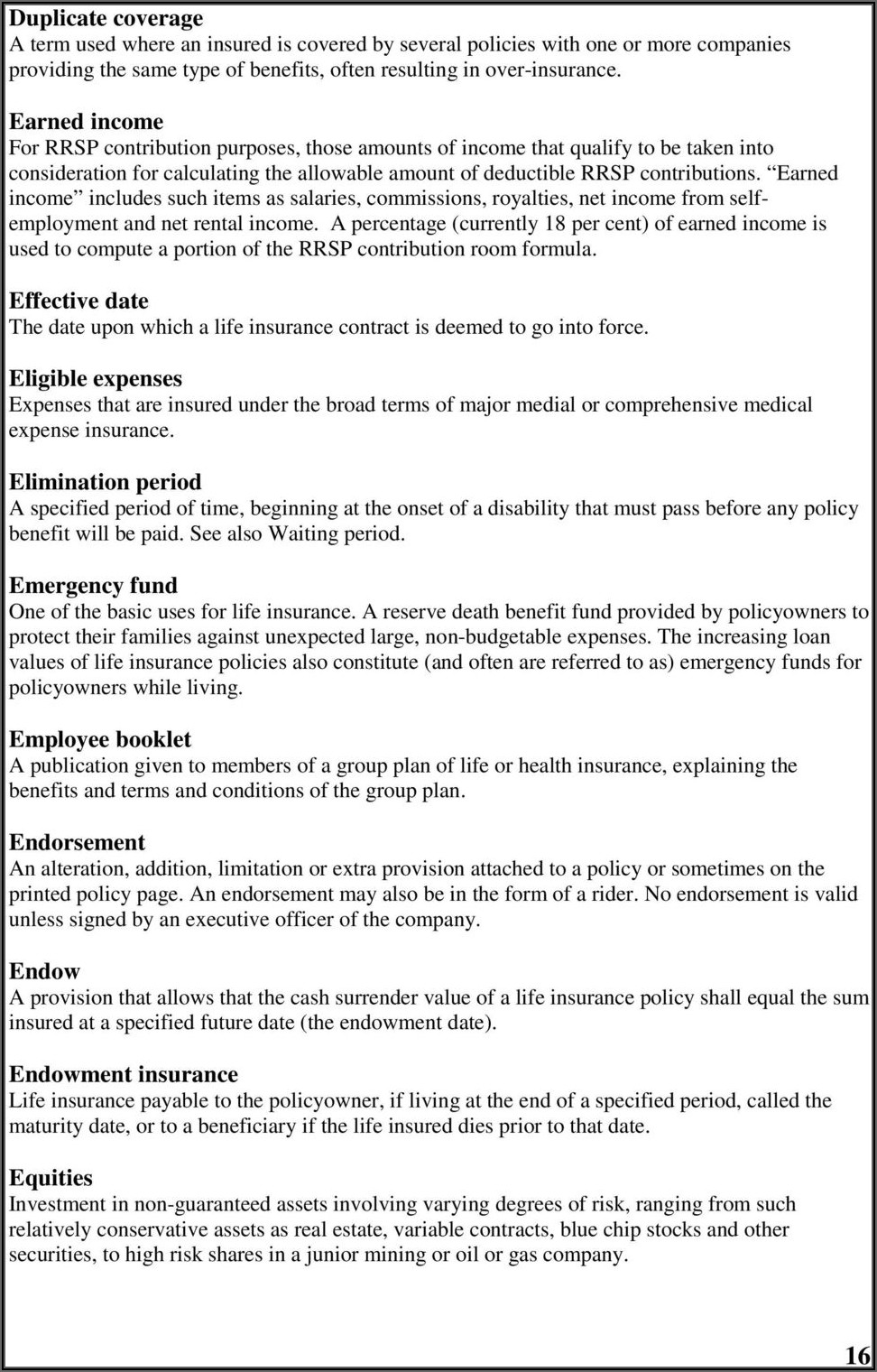 Banner Life Insurance Collateral Assignment Form