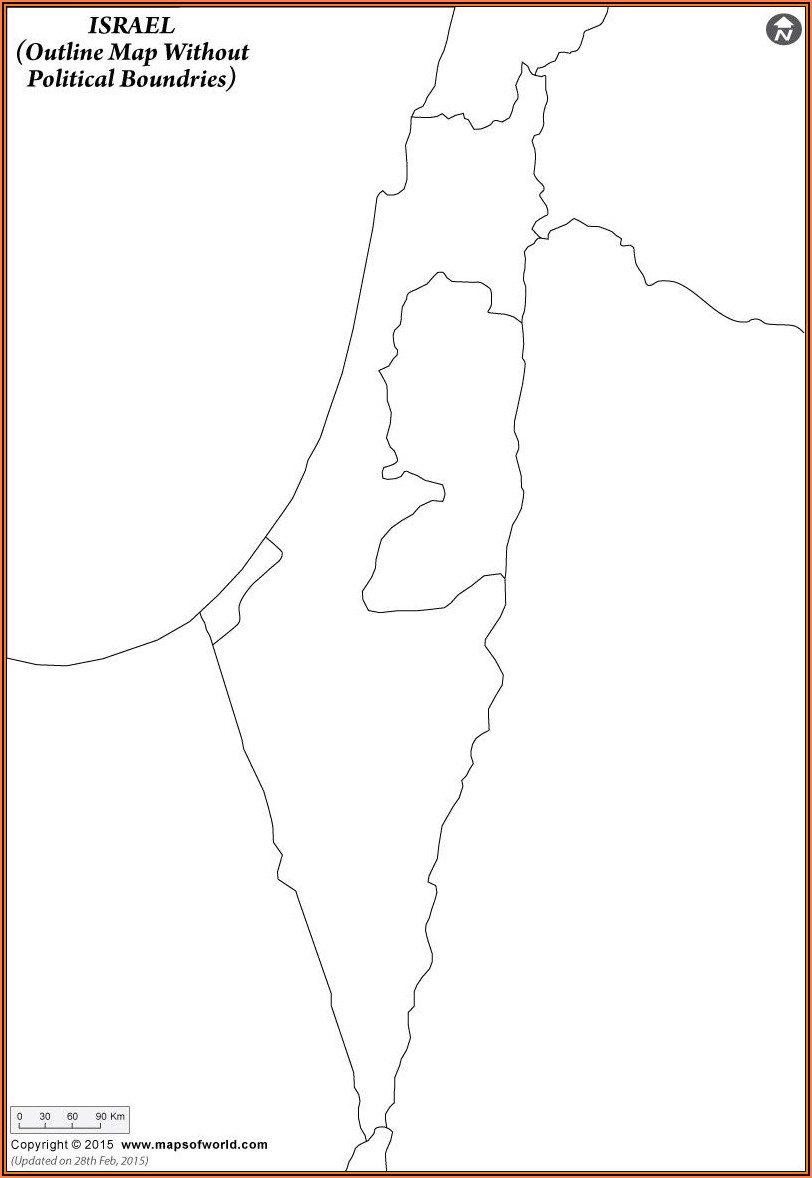 Blank Map Of Ancient Palestine