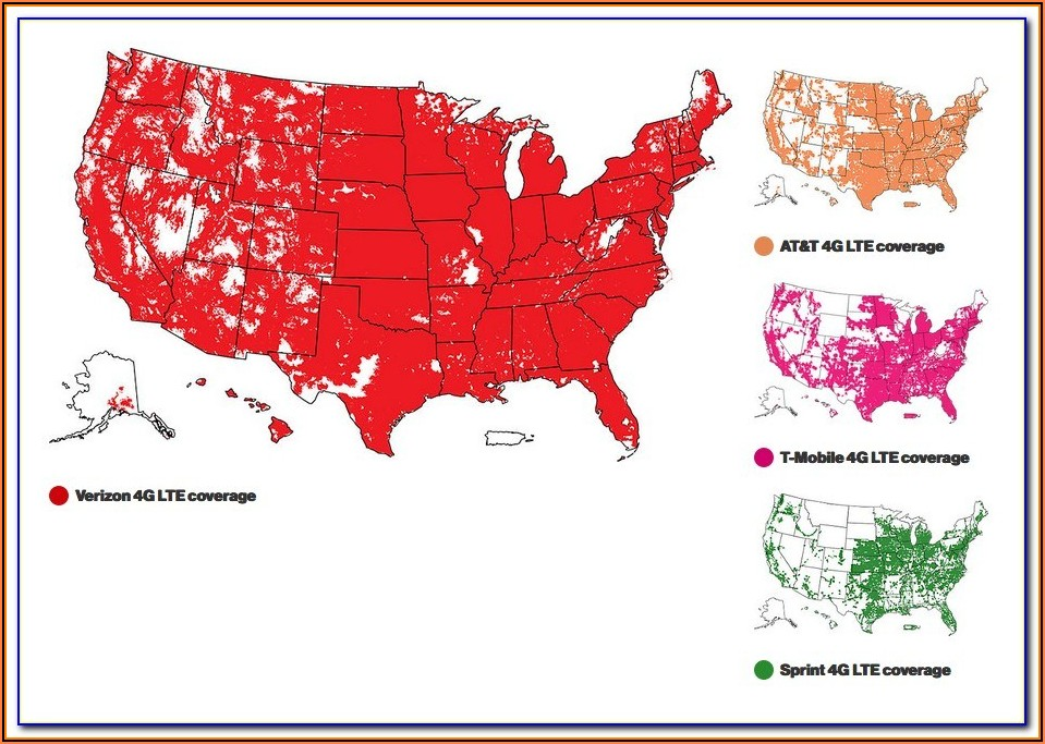 Cell Phone Coverage Maps Canada