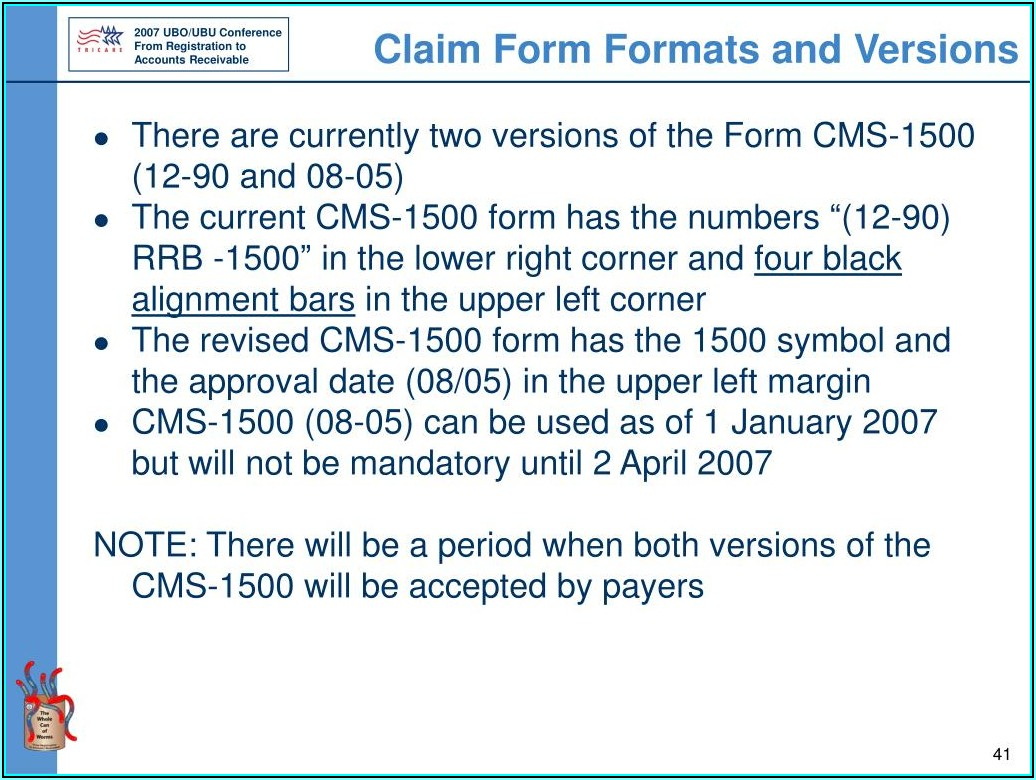 Cms 1500 And Ub 04 Billing Forms