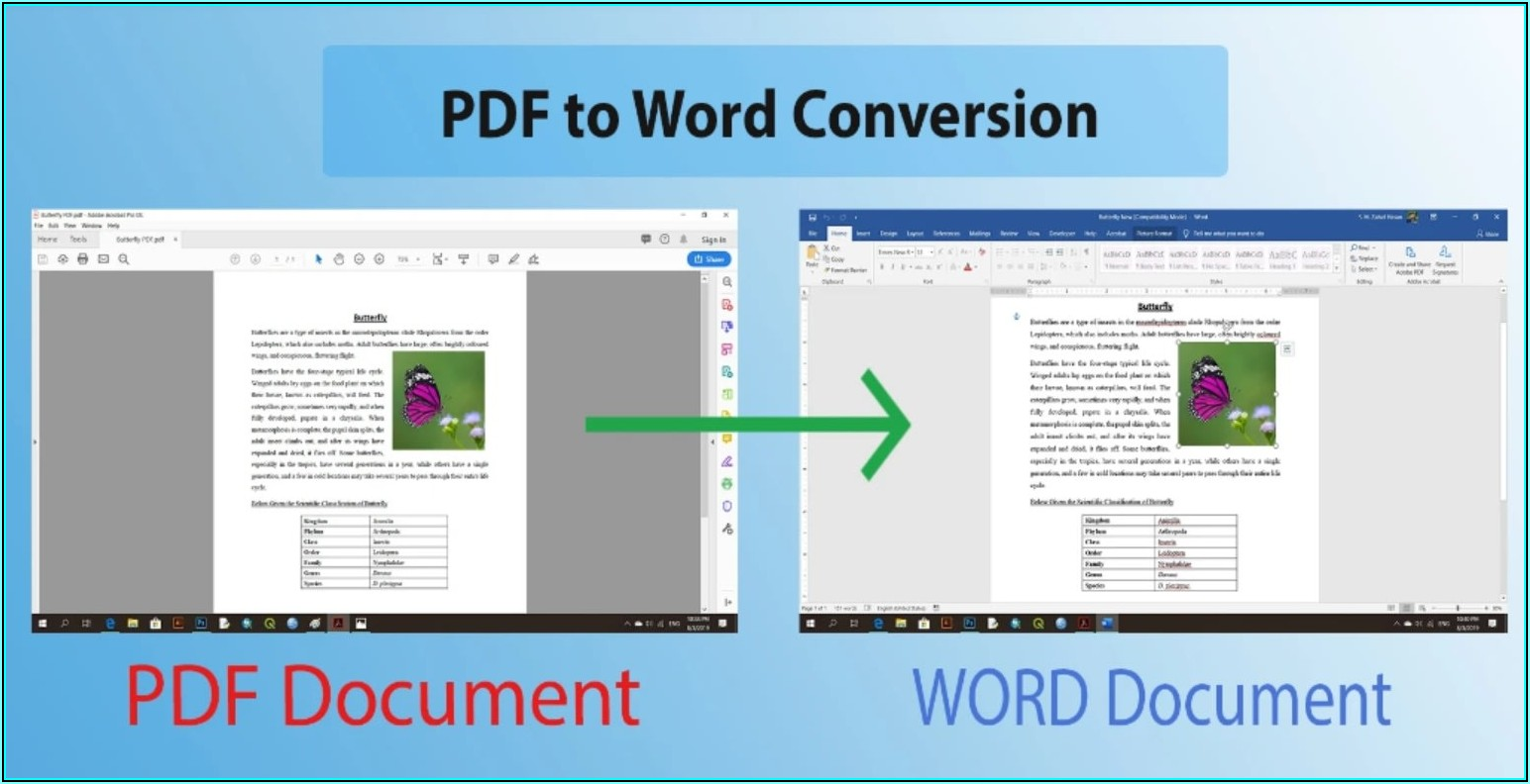 Convert Word File To Pdf Fillable Form