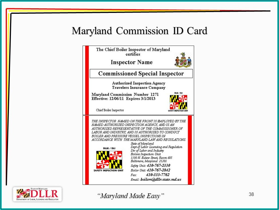 Csd 1 Boiler Inspection Form Maryland