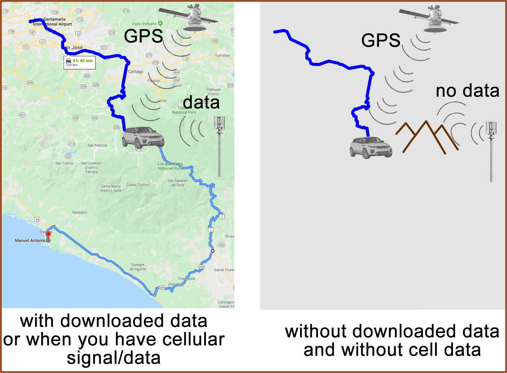 Does Garmin Have Maps For Costa Rica