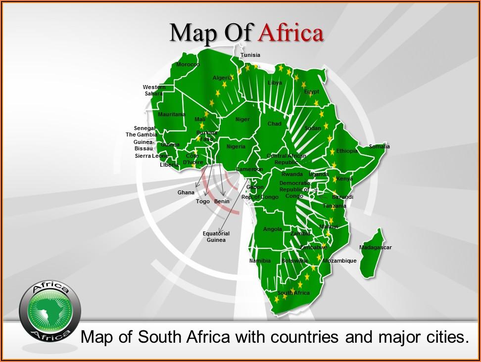 Editable Maps Powerpoint