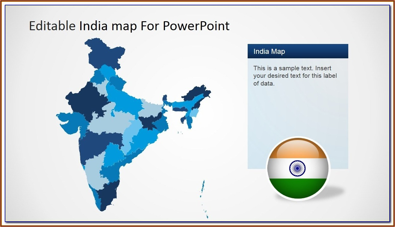 Editable Powerpoint Map Of The World