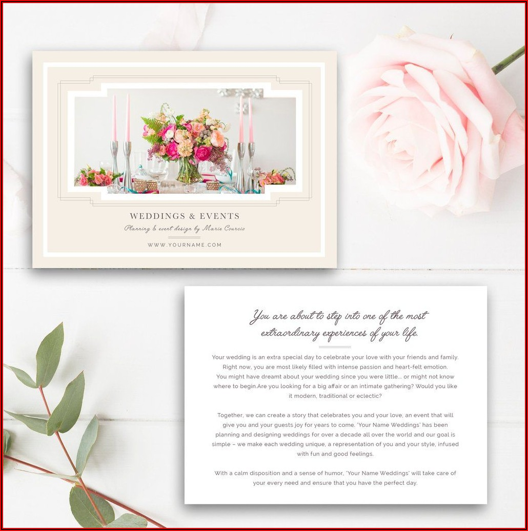 Event Planning Flyer Templates
