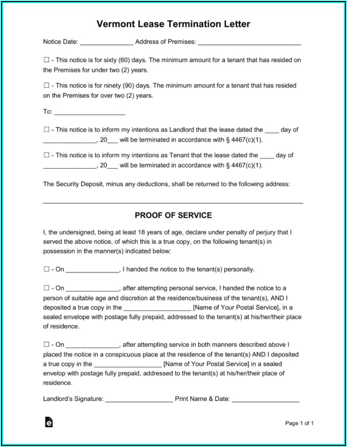 Eviction Notice Texas Form