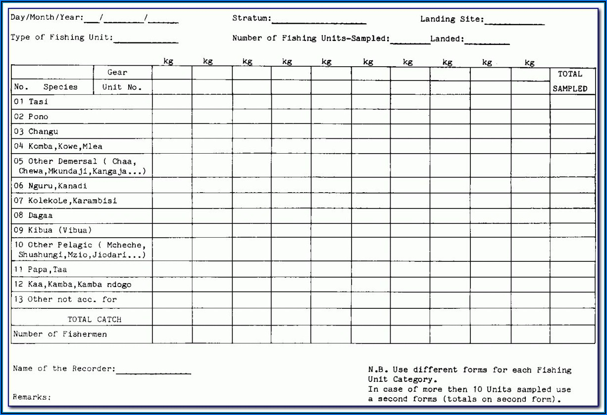 Forklift Daily Inspection Template