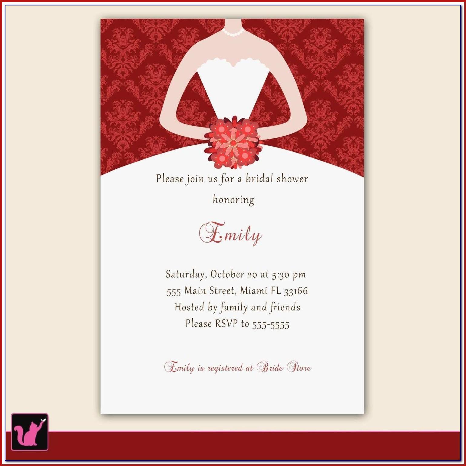 Free Catholic Wedding Invitation Templates