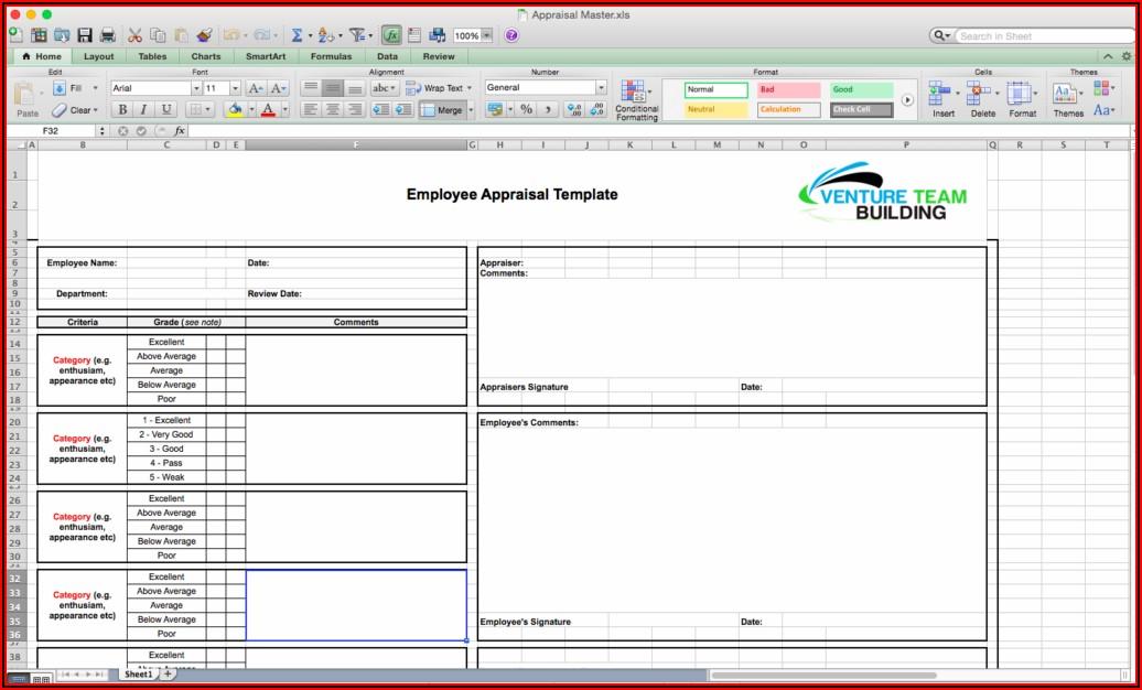 Free Employee Appraisal Template