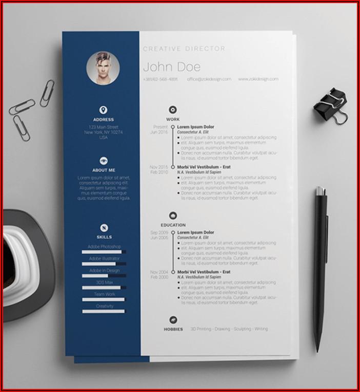 Free Marketing Resume Templates Word