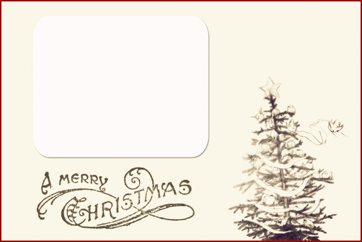 Free Photo Christmas Card Templates For Word