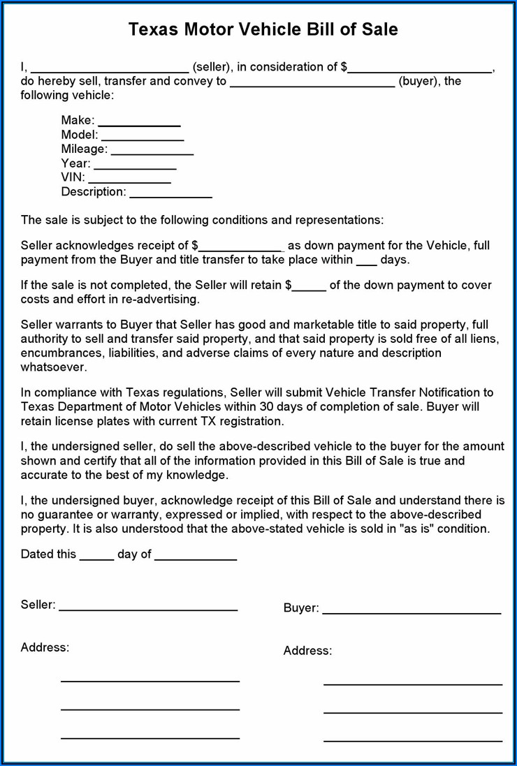 Free Printable Durable Power Of Attorney Form Texas 2020