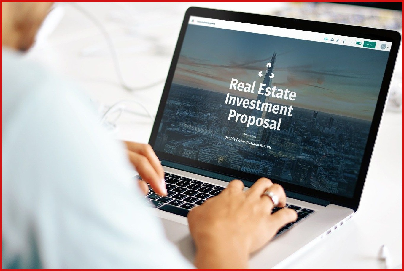 Free Real Estate Investment Proposal Template