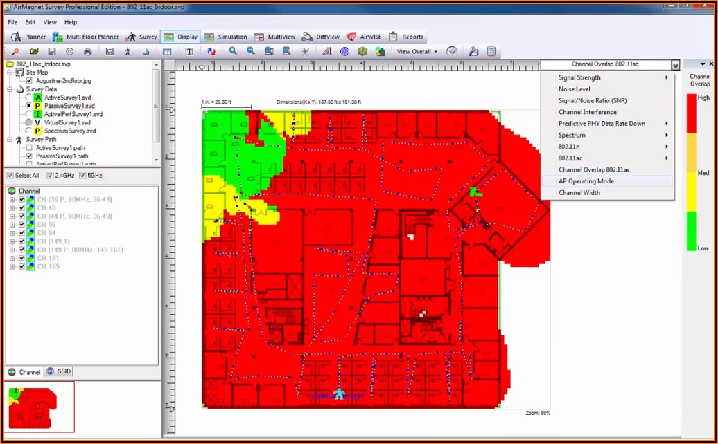 Free Wireless Heat Mapping Software
