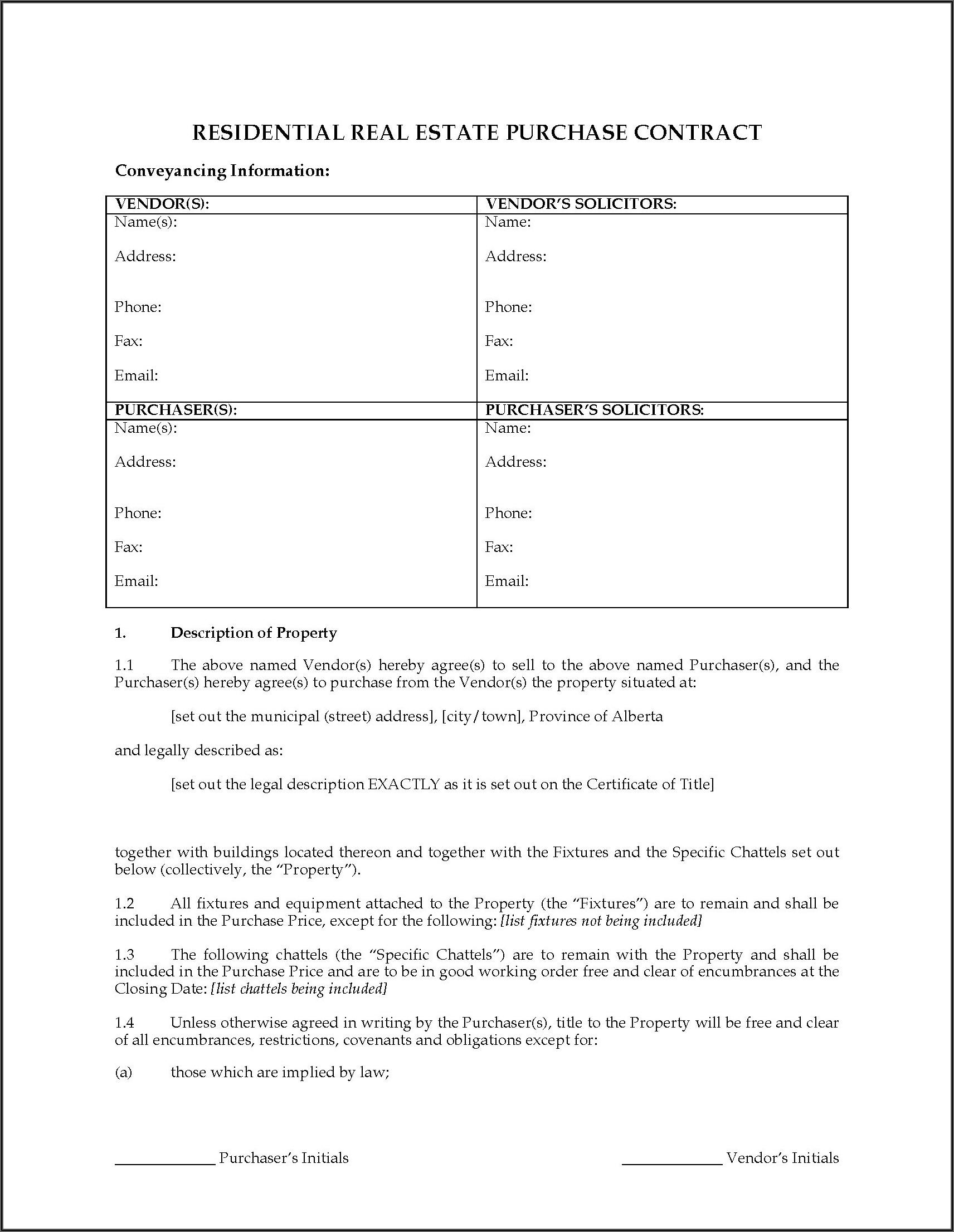 Fsbo Contract Forms Texas