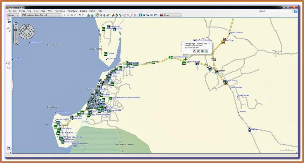 Garmin Costa Rica Maps Download