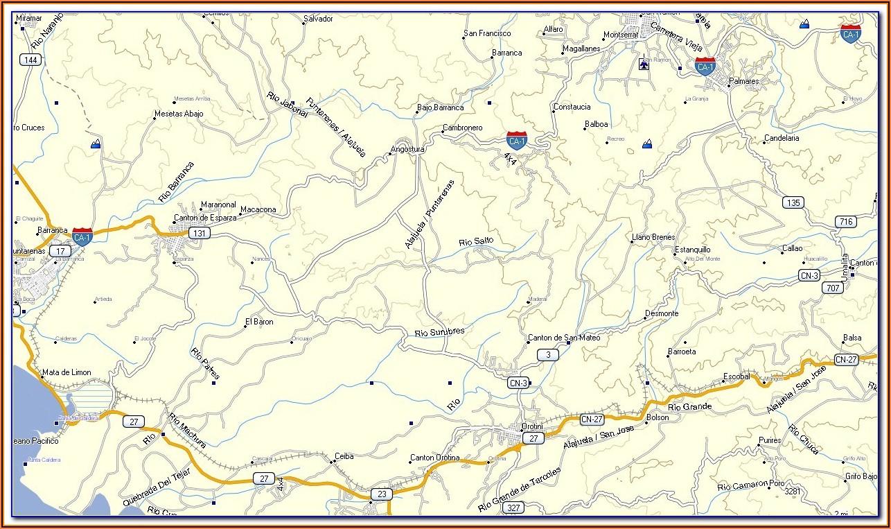 Garmin Gps Maps For Costa Rica