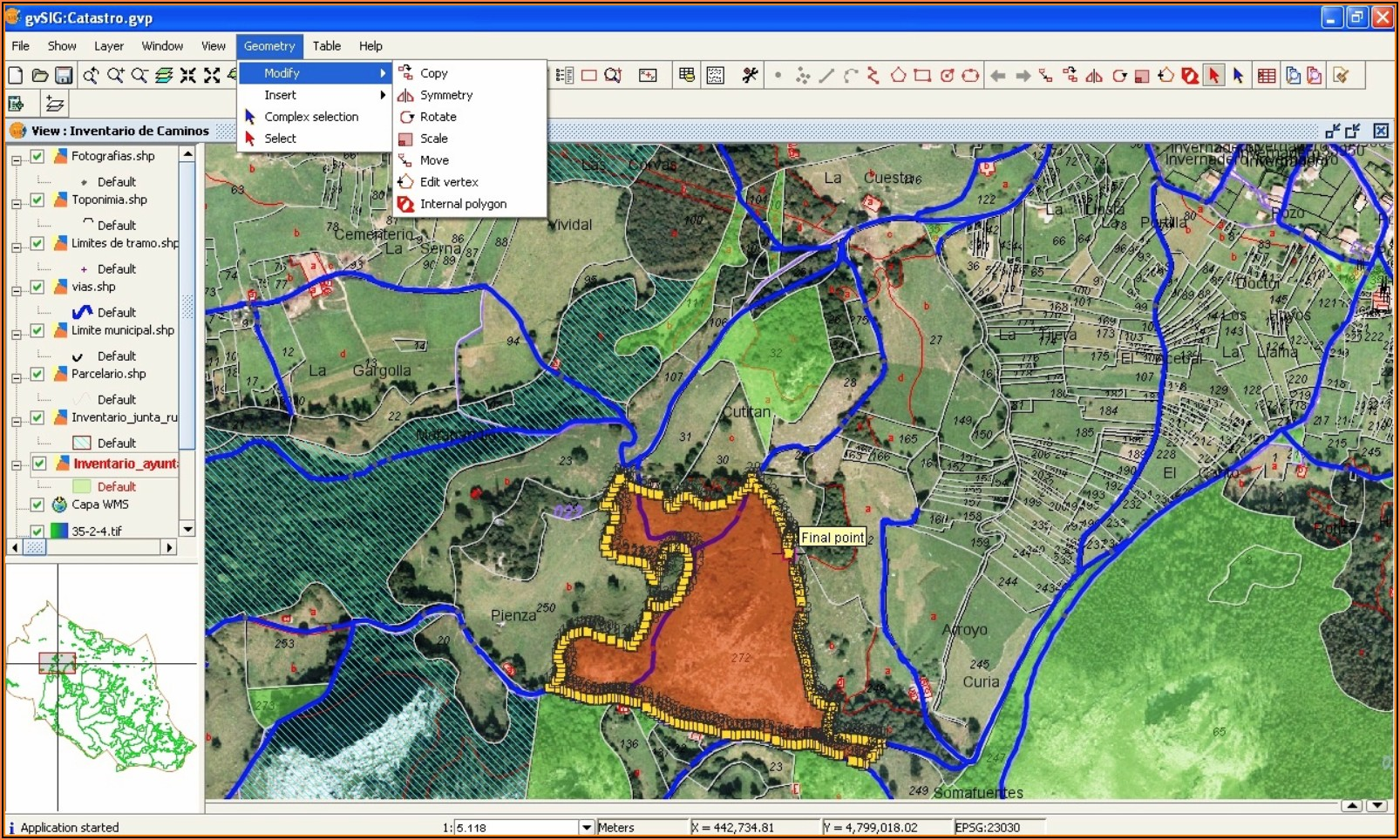 Geographic Information System Mapping Software
