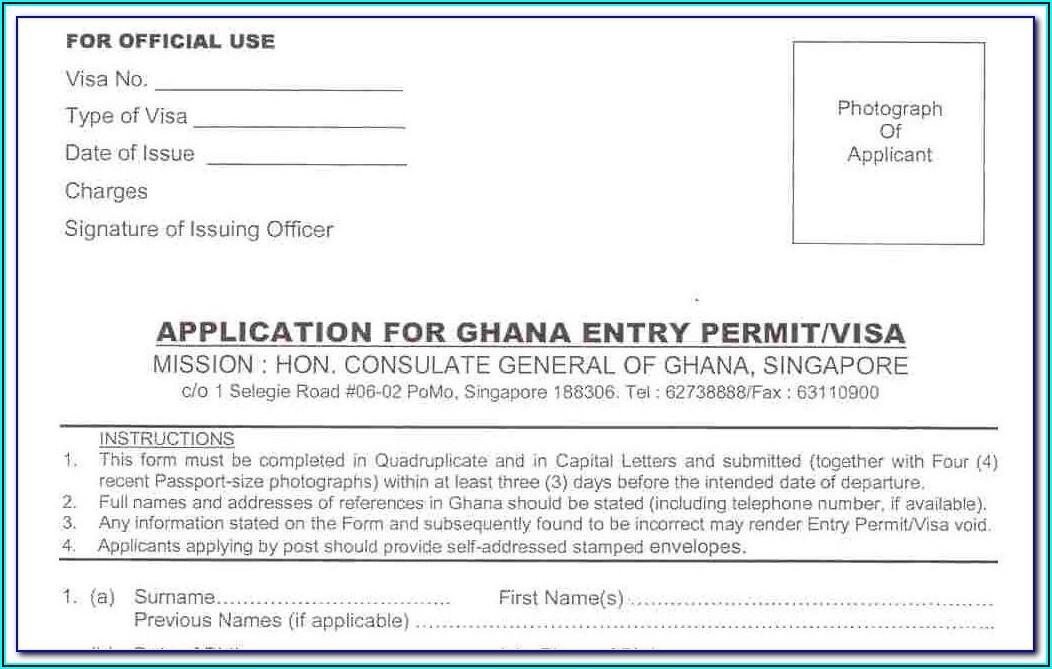 Ghana Passport Renewal Forms Pdf