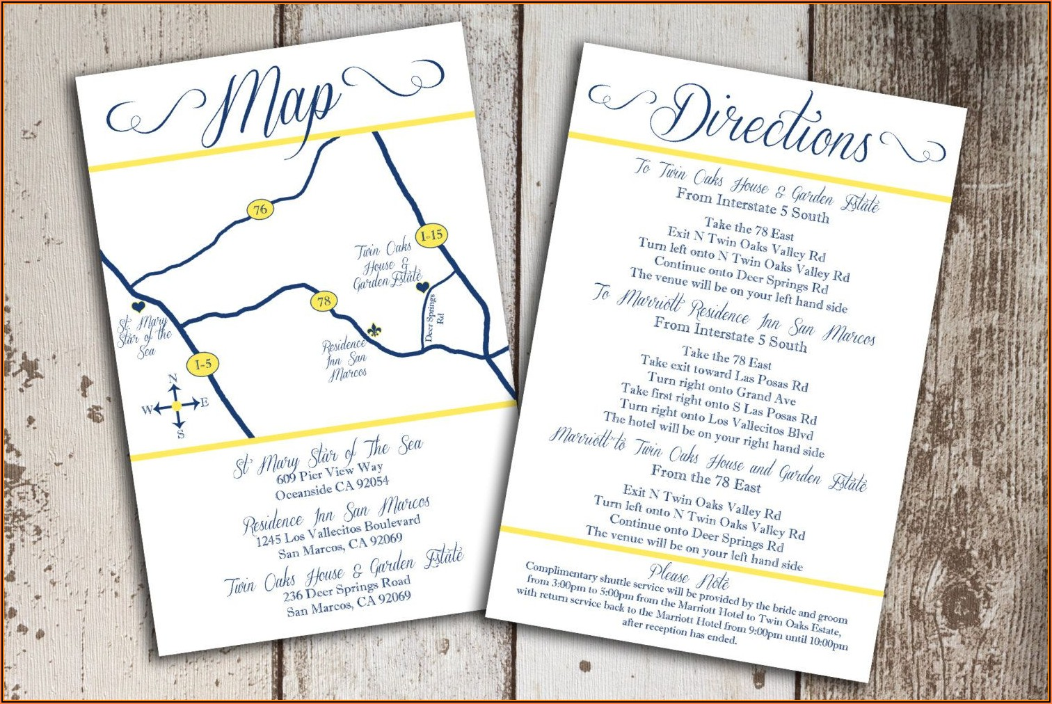 Google Map Wedding Invitation