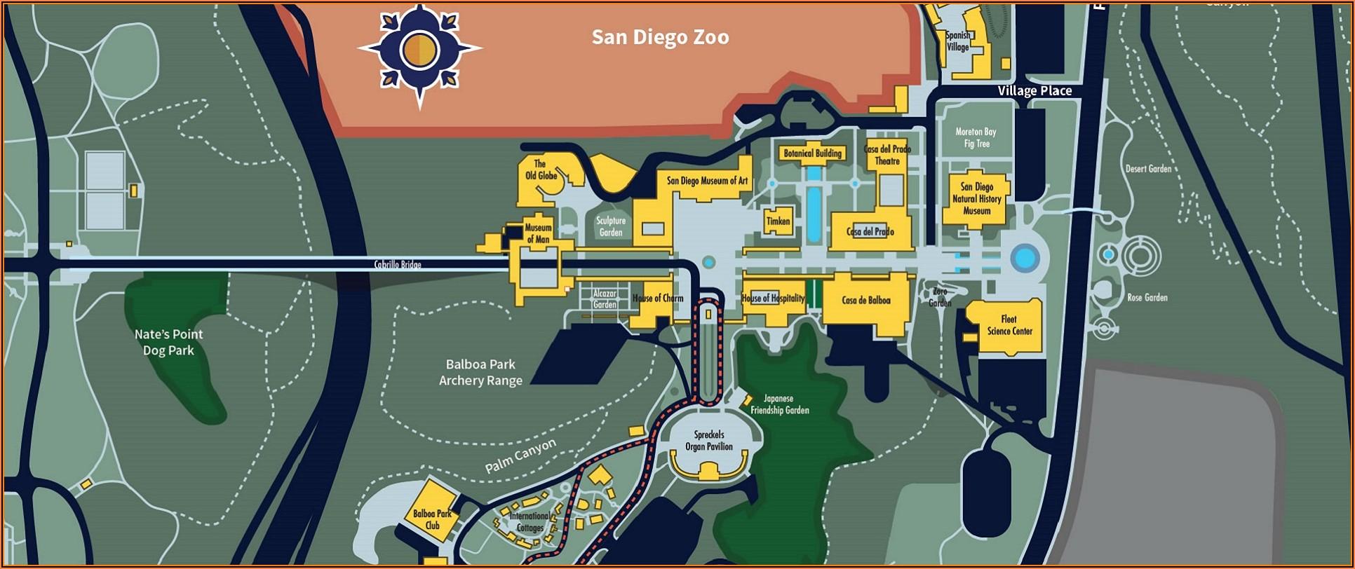 Google Maps Hotel Circle San Diego