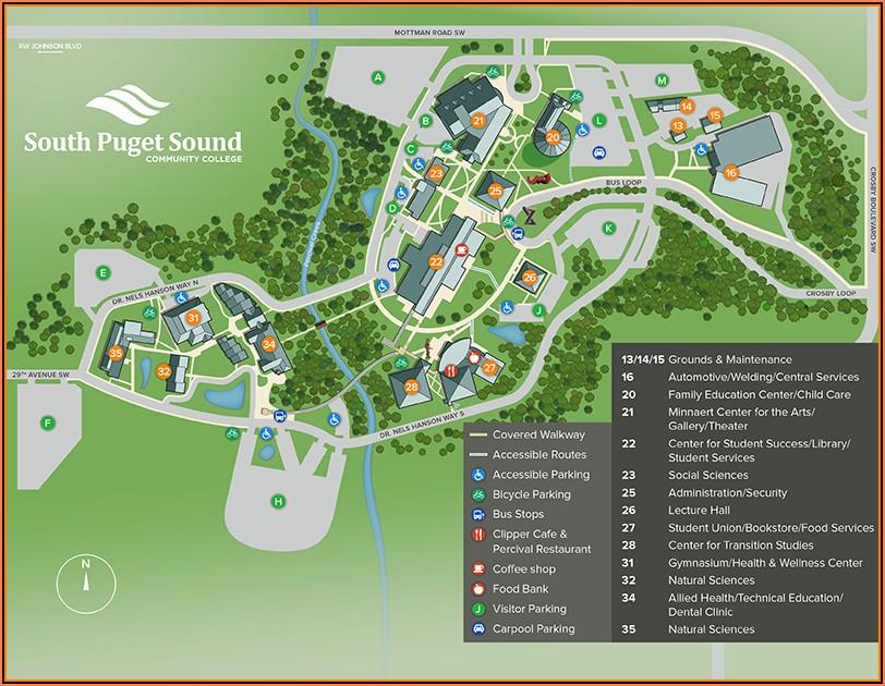 Google Maps University Of Puget Sound