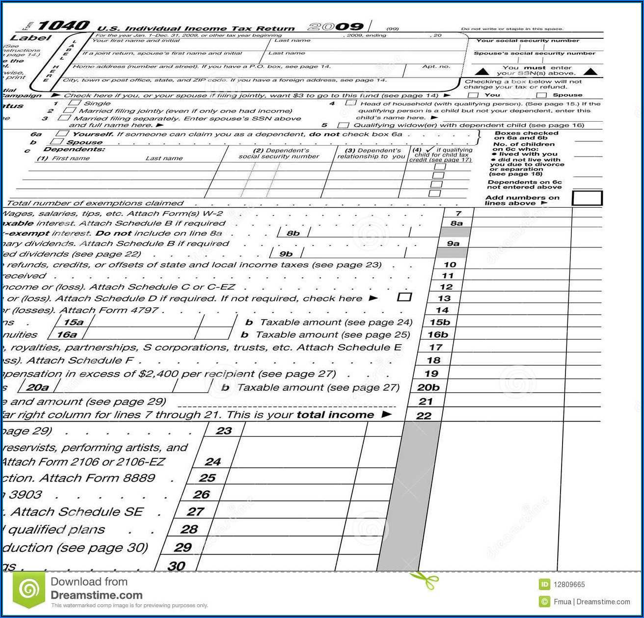 Irs Form 1040 Tax Year 2011