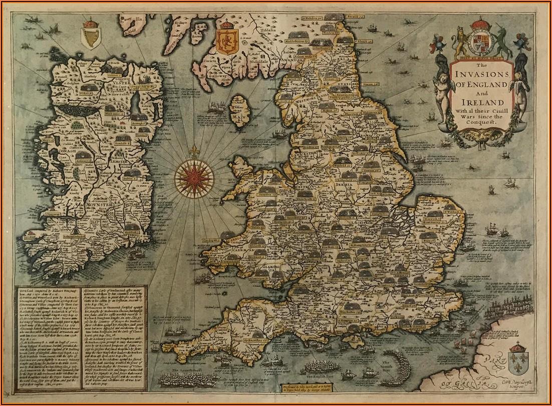 John Speed Antique Maps