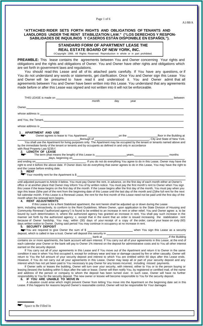 Kansas Residential Lease Agreement Form