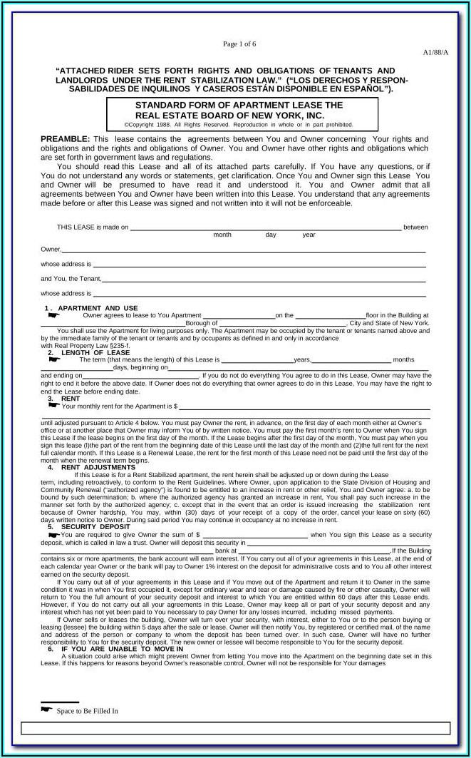 Kansas Residential Lease Agreement Form