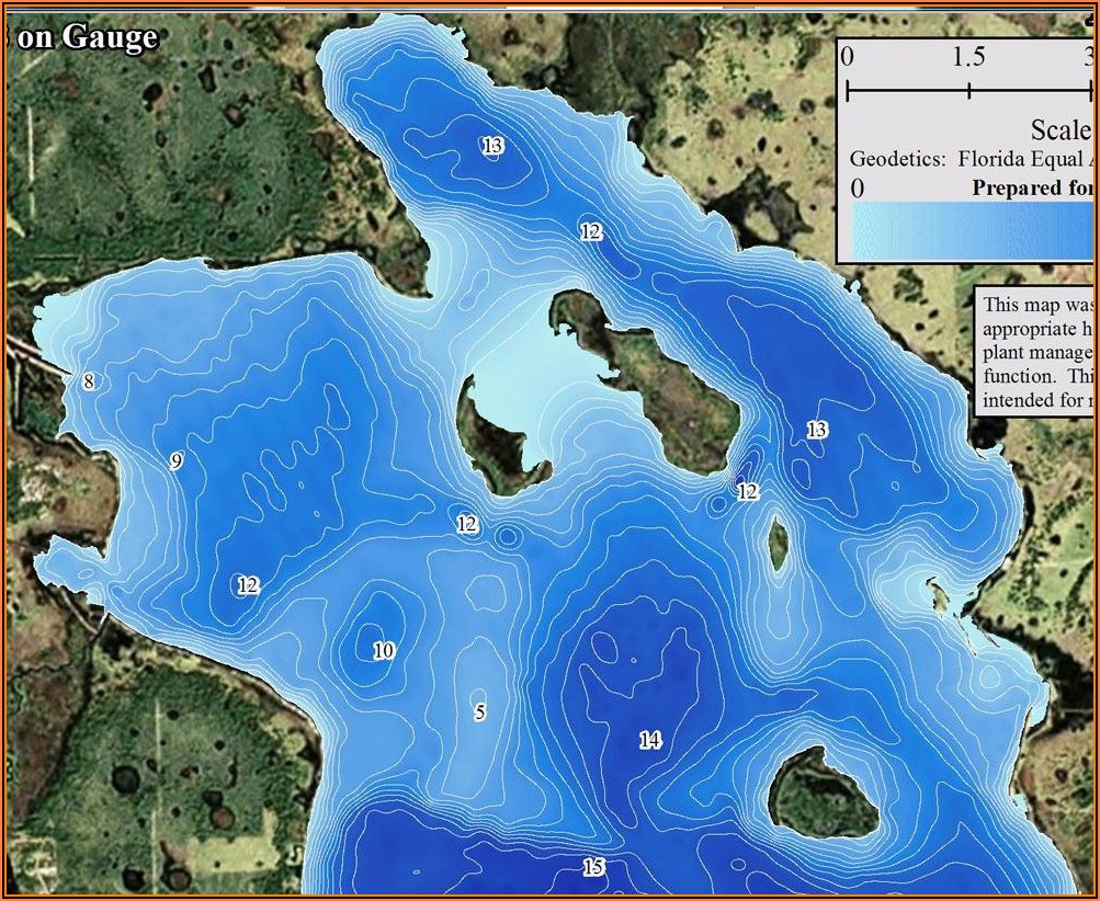 Lake George Florida Topographic Map