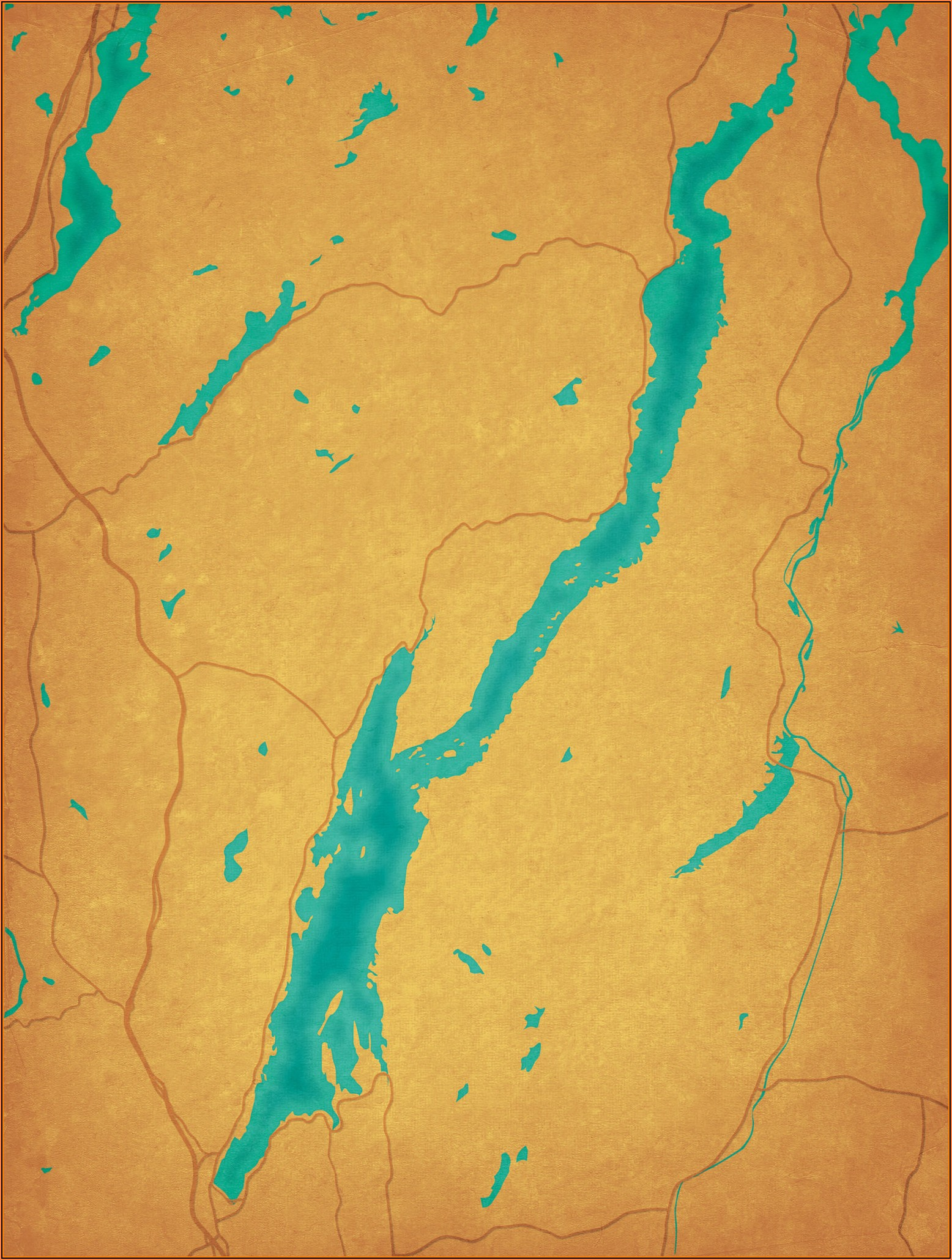 Lake George Indiana Topographic Map