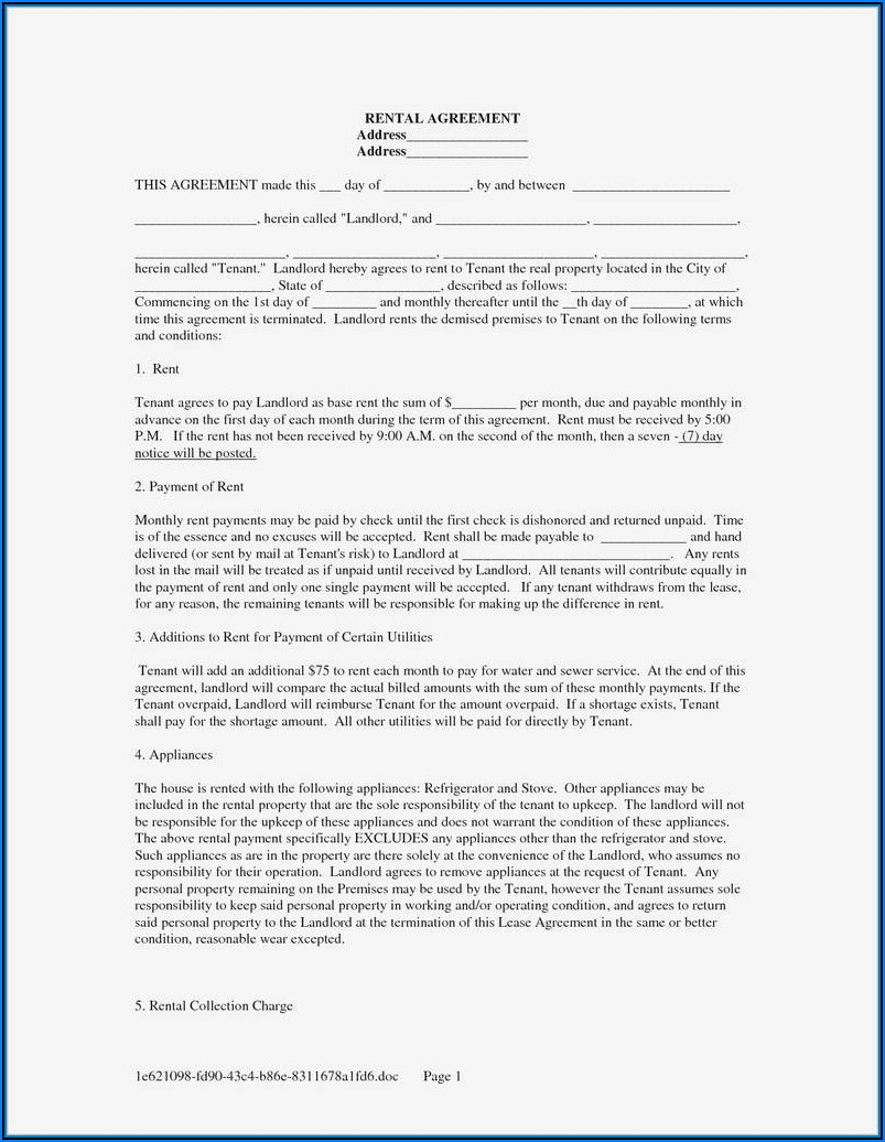 Landlord Forms California